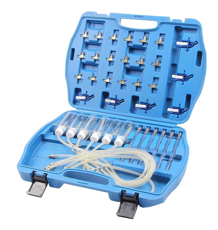 SLPRO R/ücklaufmengen Pr/üfger/ät Pr/üfer Tester Common Rail CDI Injektoren
