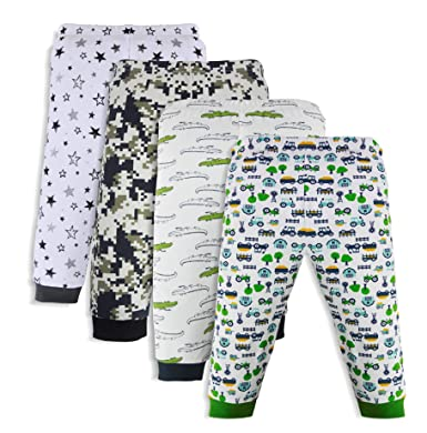 5200b1ef7 Minicult Cotton Baby Pajama Pants for Girls with Rib  Amazon.in ...