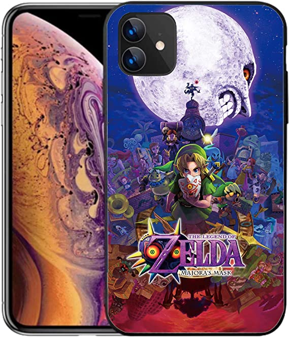 the legend of zelda majora's mask iphone 11 case