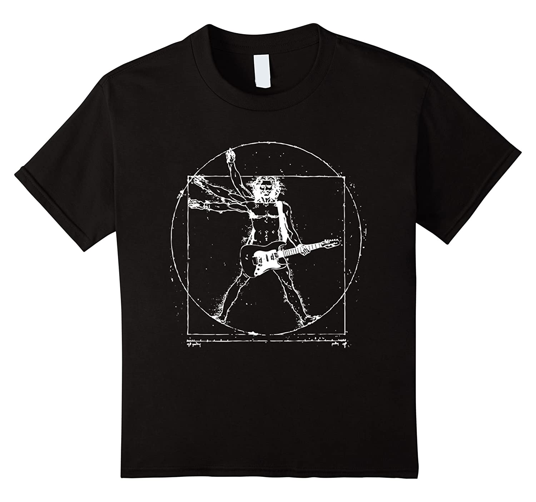 Mens Vinci Guitar Shirt Olive-Tovacu