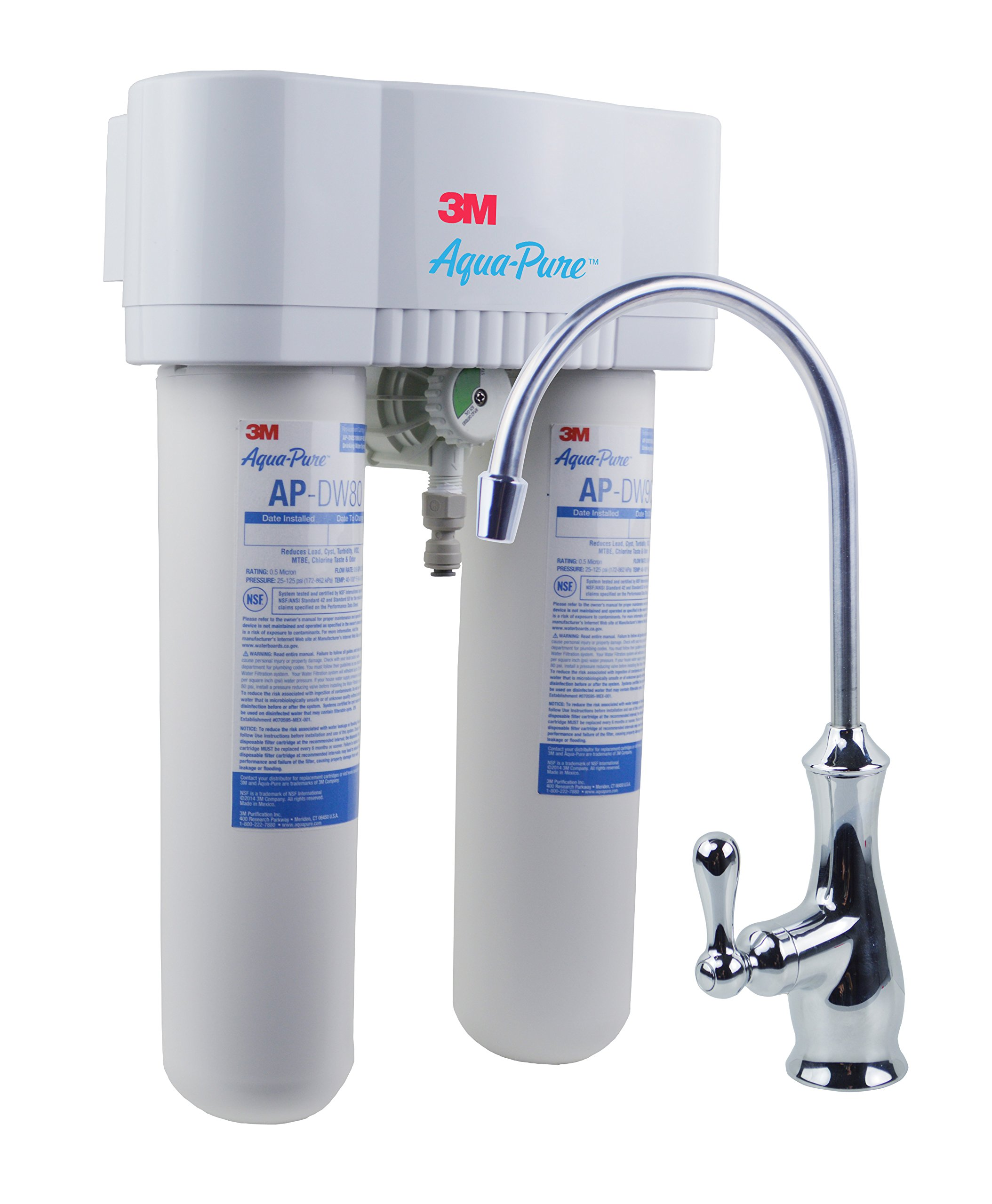 3M Aqua-Pure Under Sink Water Filtration System – Model AP-DWS1000 by 3M AquaPure
