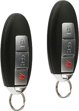 KeylessOption Keyless Entry Remote Car Smart Key Fob for Nissan Rogue Rogue Sport 2014-2016