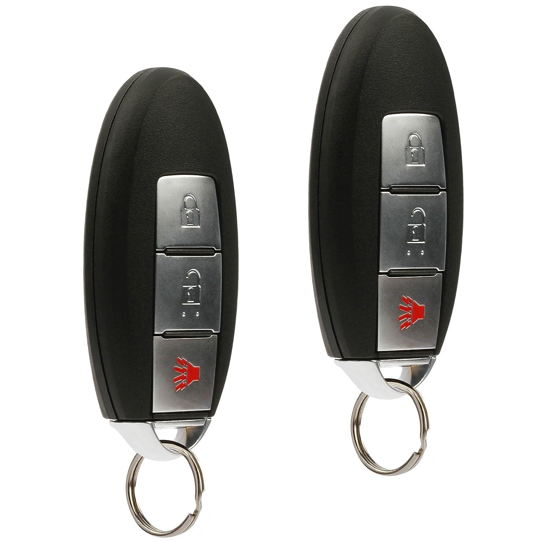 Set of 2 KR5S180144014, 285E3-3KL4A Car Smart Key Fob Keyless Entry Remote fits 2013-2016 Nissan Pathfinder