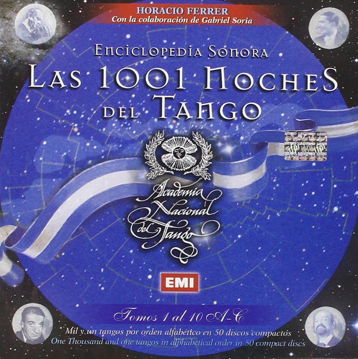 Enciclopedia Sonora-Las 1001 Noches Del Tango-Set - Las 1001 Noches Del Tango- Set 1 - Amazon.com Music