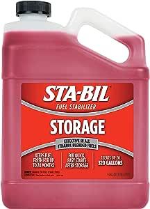STA-BIL 22213 Fuel Stabilizer, 1 Gallon, Red