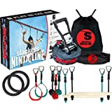 Slackers 56' Ninjaline Intro Kit with Two Bonus Traverse Rings