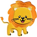 PatchMommy Iron-On Applique Patches-Lion