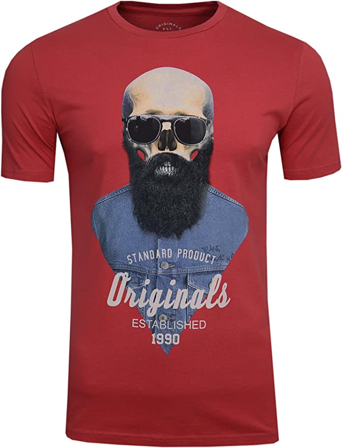 Acheter t-shirt homme tete de mort online 3