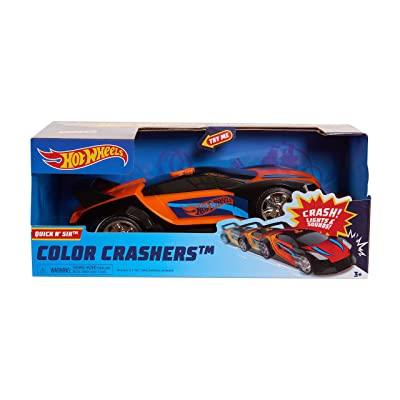 Hot Wheels Race N Crash Quick N\' SIK: Toys & Games [5Bkhe0204429]