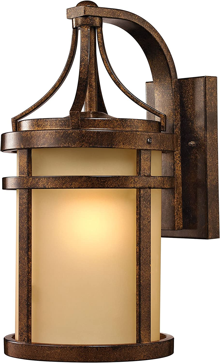 ELK Lighting 45097/1 Winona Collection 1 Light Outdoor Sconce, 18 x 9 x 11