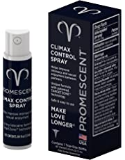 Promescent Desensitizing Delay Spray for Men Clinically Proven to Help You Last Longer - Better Maximized Sensation + Prolong Climax For Him - 1.3 ml