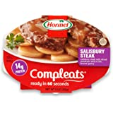 Hormel Compleats Microwavable Bowl Salisbury Steak, 10-Ounce (Pack of 6)