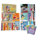 Read With Biff,Chip And Kipper Levels 1 2 3 Box Set & 4 5 6 Box Set Brand New 2012 Edition Of the Oxford Reading Tree Read At Home 50 Books (Read At Home With Biff Chip And Kipper)