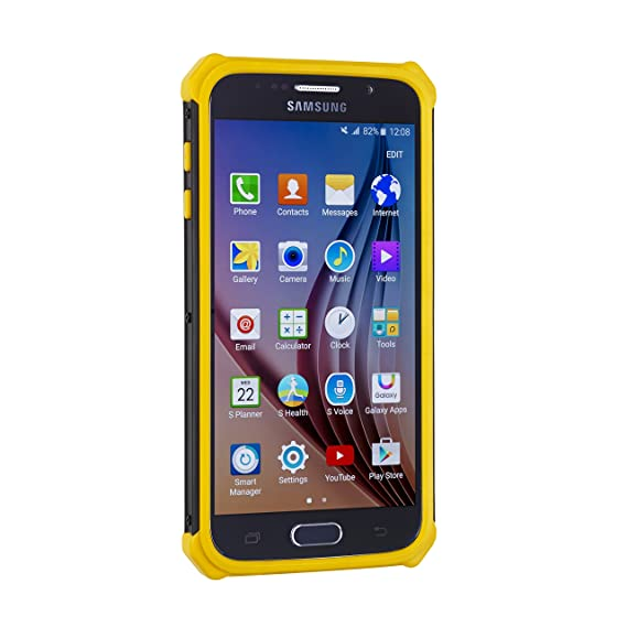 e9d674dfe Caterpillar Active Urban Case for Samsung S6-Yellow: Amazon.ca: Cell ...