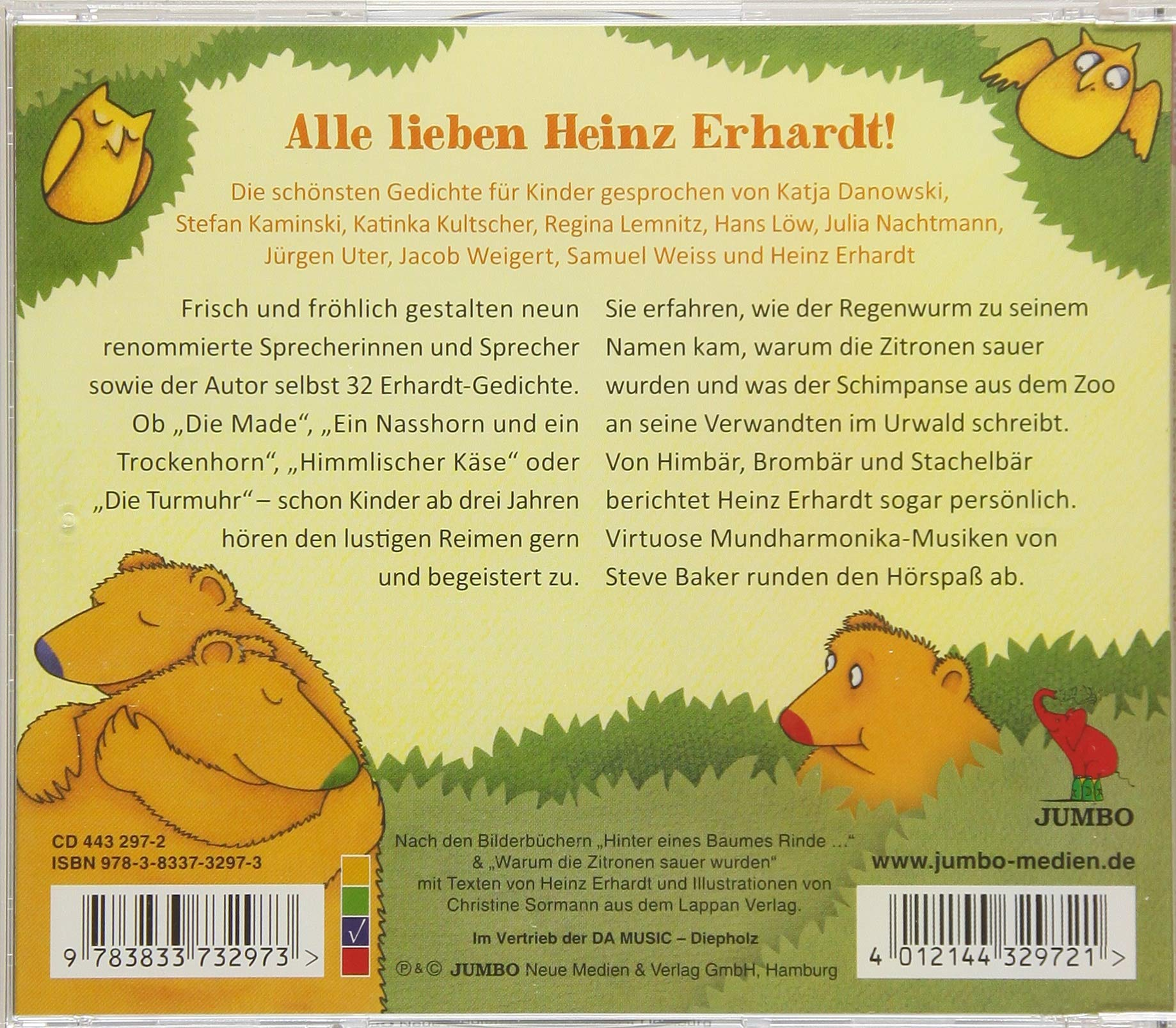 Heinz Erhardt Für Kinder 31 Gedichte Und Nochn Gedicht