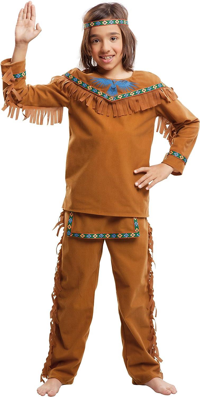 My Other Me Me-203396 Disfraz de indio velvet para niño, 7-9 años ...