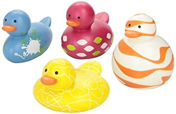 Boon Odd Ducks 4 Pack,Pink Multi (Discontinued by Manufacturer)