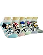 Disney Peekaboo Stripe Sneakers Socks