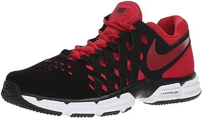 competitive price b0122 db828 Nike Men s Lunar Fingertrap Cross Trainer, Black Gym red, 7.0 Regular US