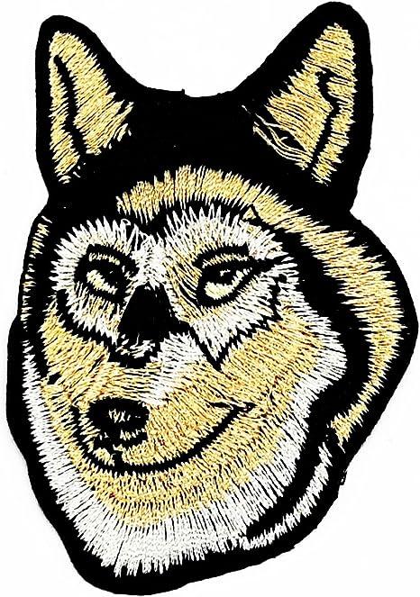 Parche para perro Husky Animal de la marca RABANA con diseño de ...