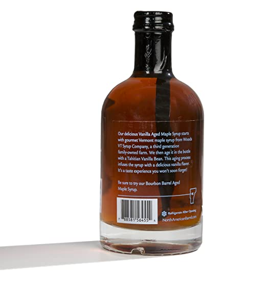 af22757db2e Amazon.com   North American Barrel Vanilla Aged Vermont Maple Syrup ...