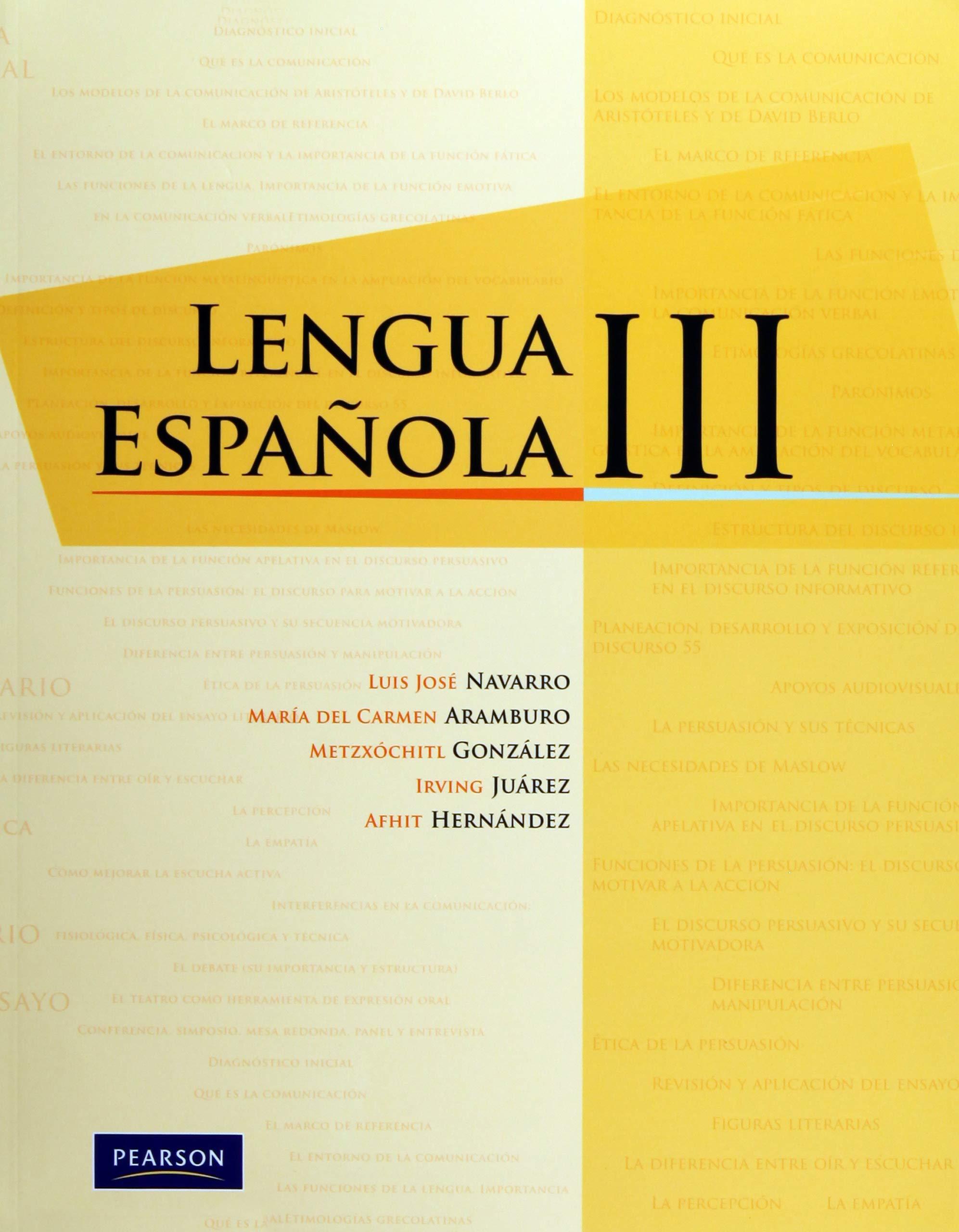Lengua Española Iii Spanish Edition Vv Aa 9786073202916