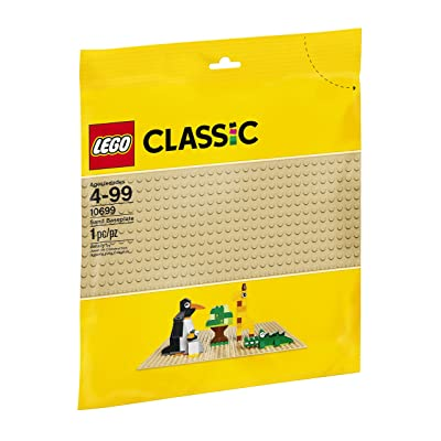 LEGO Classic Sand Baseplate: Toys & Games