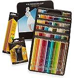Prismacolor Premier Colored Pencils, Soft Core, 132 Pack (4484) with 2 Blender Pencils (962) & Pencil Sharpener (1786520)
