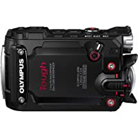 "Olympus TG-Tracker - Cámara de acción de 7.2 MP (Pantalla abatible de 1.5"", GPS, WiFi, estabilizador de 5 Ejes, Video 4K), Color Negro"