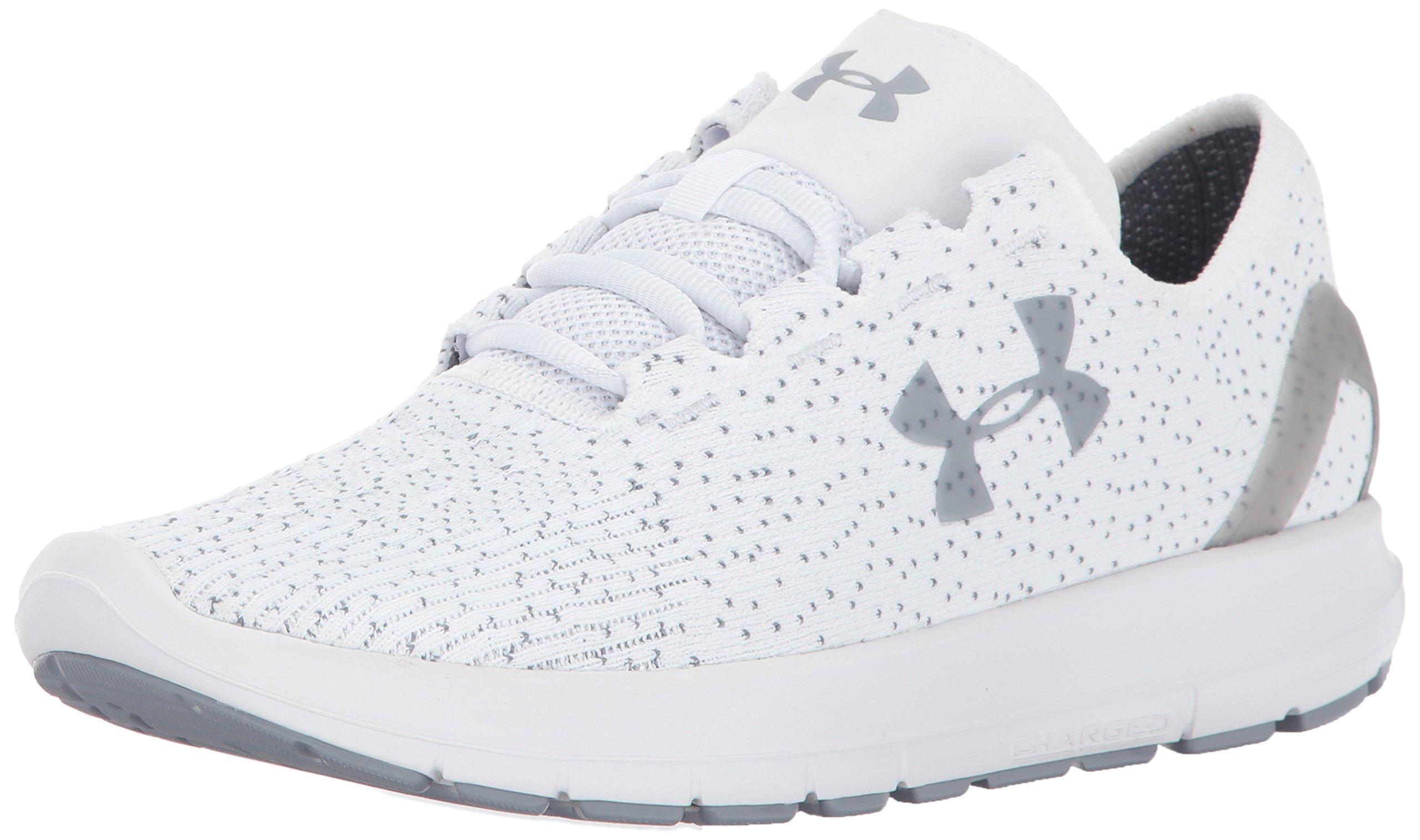 Under Armour Men's Speedform Slingride 1.1 Running Shoe, White, 9