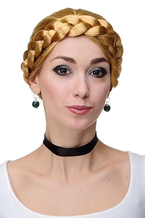 Wig Me Up Perruque D Un Galon Tresse Blonde Coiffure