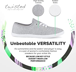Twisted Tennis Shoes for Women