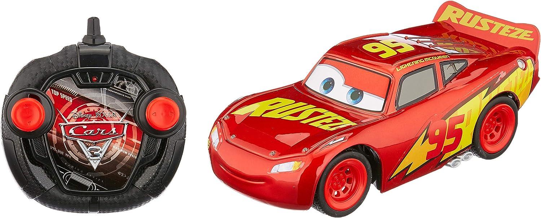 Dickie Toys 203084010Cars 3rrc Turbo Racer Lightning Mcqueen RC Coche, Coche Teledirigido, 1: 24, 17cm