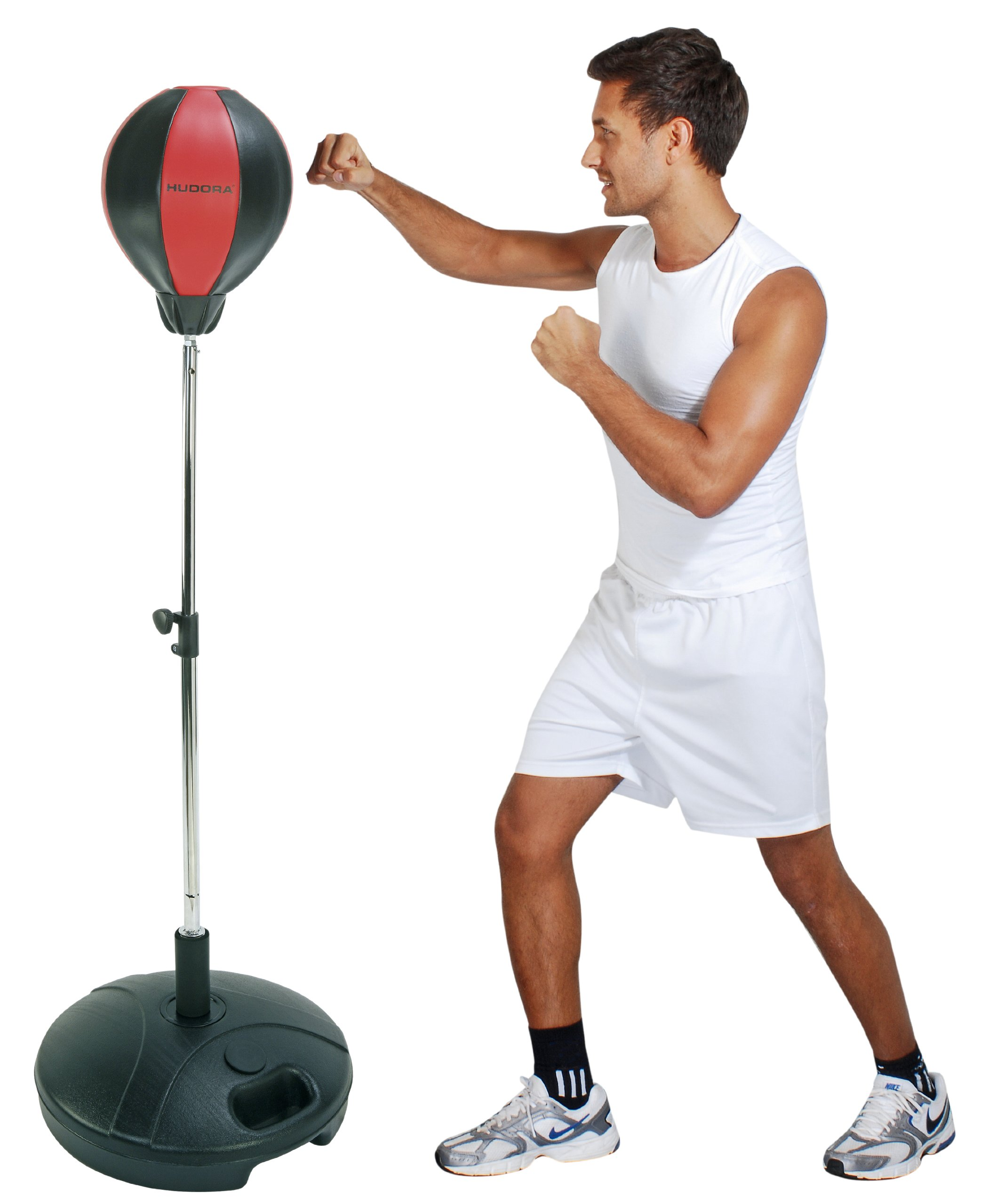 HUDORA Punching Ball With Boxing Gloves And Pump by by HUDORA (Image #2)