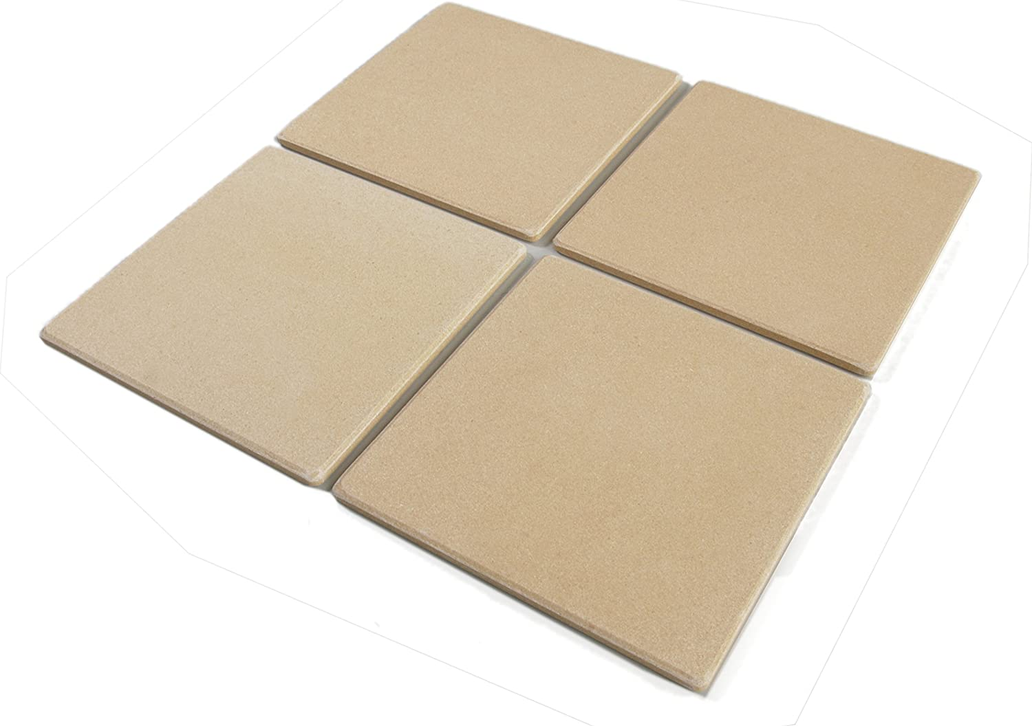 Bialetti Taste of Italy Ceramic Pizza Stone Tile, Set of 4