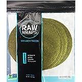 Raw Wraps, Gluten Free, Paleo, and Keto Friendly, Shelf Stable, 6 Tacos per Pack , Vegan, Non-GMO, No Added Salt or Sugar, Ye
