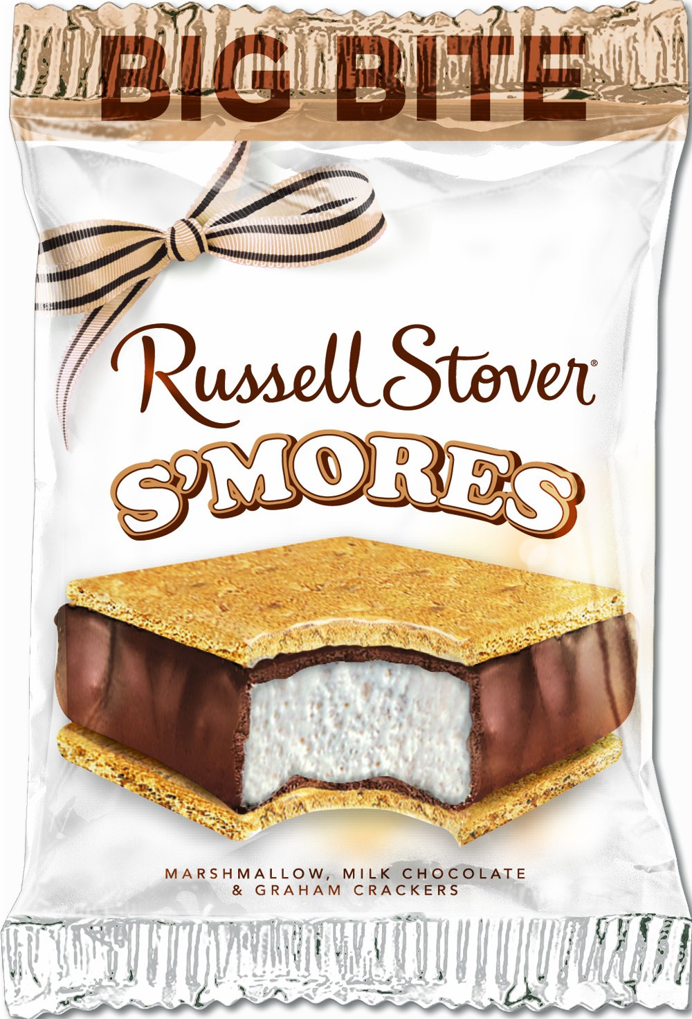 Amazon.com : Russell Stover S'mores Big Bite Candy, Single Bar ...