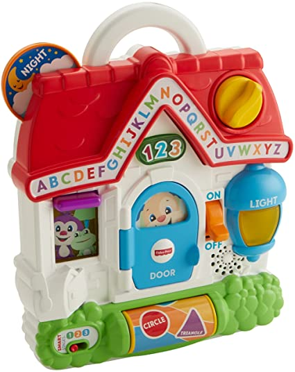 ffd673d85 Amazon.com  Fisher-Price Laugh   Learn Puppy s Busy Activity Home ...