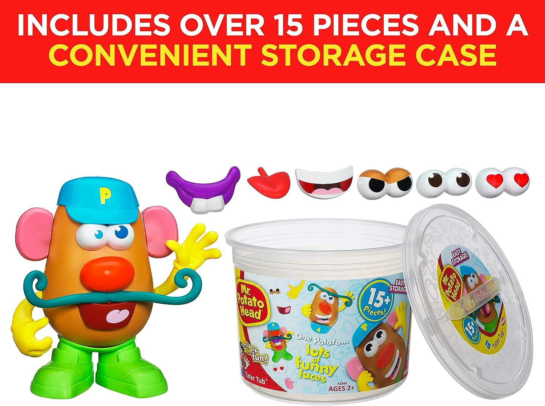Mr Potato Head Cabeza de Patata Playskool Tater bañera Set: Amazon ...