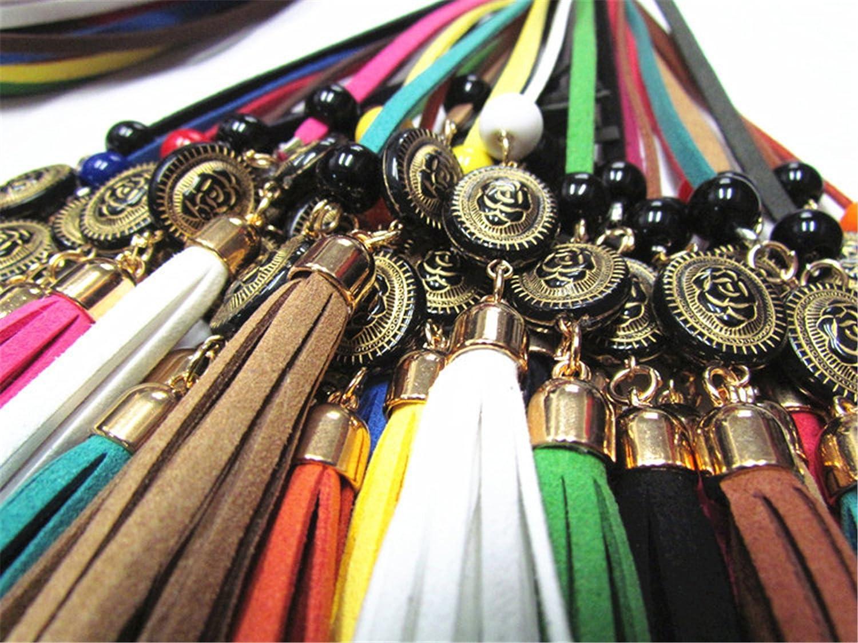 Kaured Stylish Women Female Multicolor Leather Belt For Dress Femme