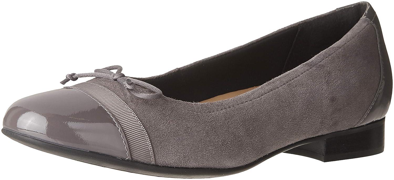 gris Suede Patent cuir Combination 38 EU N Clarks CLARKS26136917 - Un bleush Cap Femme