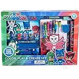 PJMASKS Children Kids Color Play and Create Art Supplies Set