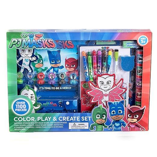 Pj Masks Color Play & Create Art Set