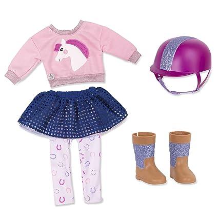 96ebc632d Amazon.com: Glitter Girls by Battat - Gallop & Glow! Outfit -14