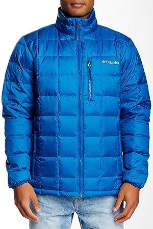 Columbia Sportswear Hombres de Wilder Quest Abajo Chaqueta, Hombre, Azul Marino: Amazon.es: Deportes y aire libre