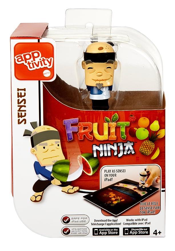 Apptivity Mattel - Figura Fruit Ninja, Color Azul y Negro (Y2828)