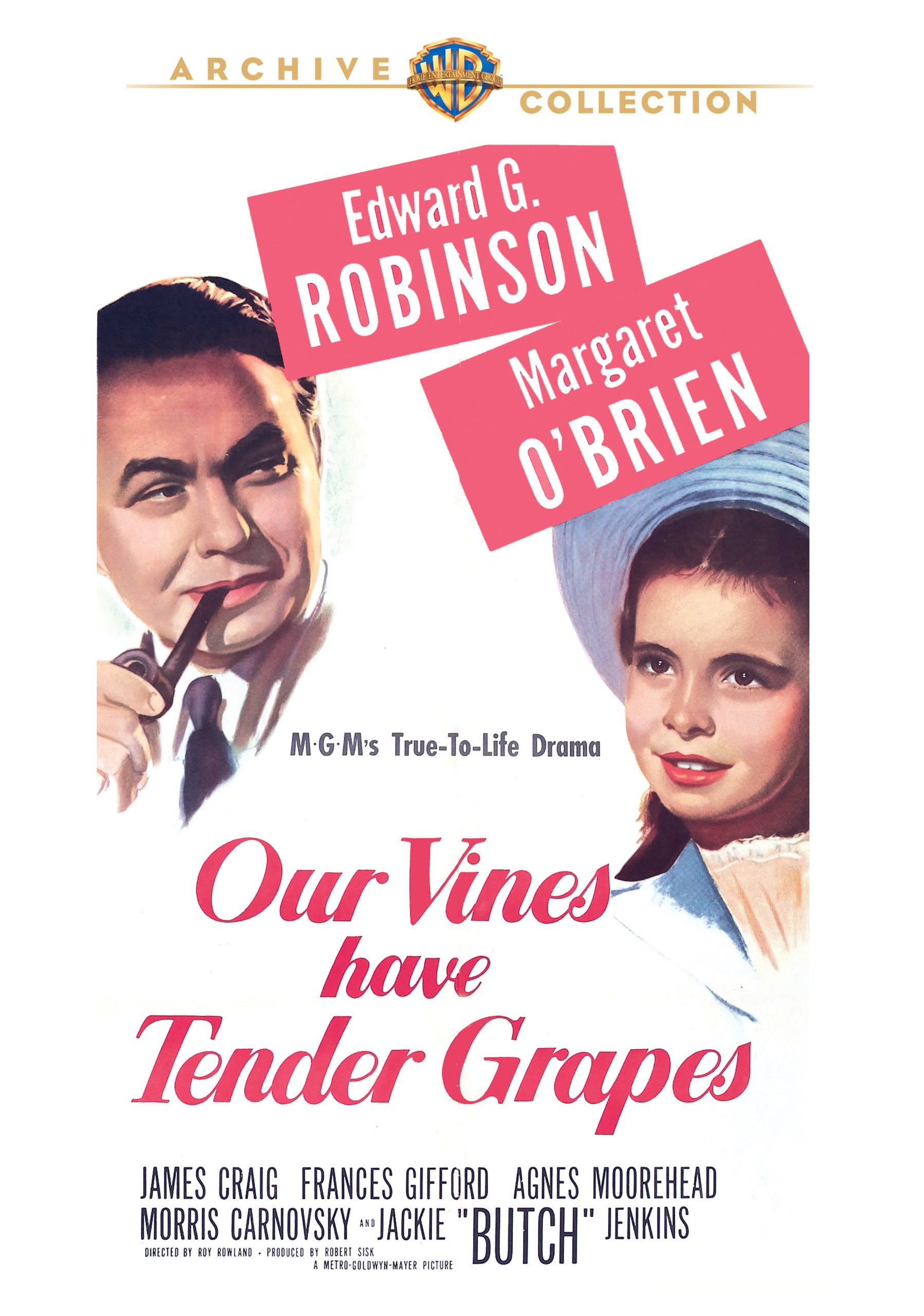 Amazon.com: Our Vines Have Tender Grapes: Edward G. Robinson ...