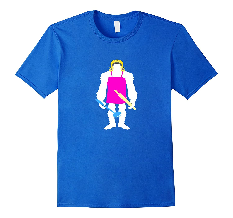 Mama Bigfoot T-shirt Funny Sasquatch Gift Mothers Day-Vaci