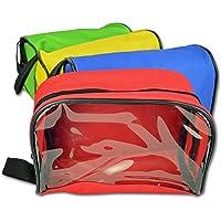 Lightning X Color Coded First Aid Medical Kit Bolsas de Accesorios – Bolso con Cierre con Ventana Transparente – Juego de 4
