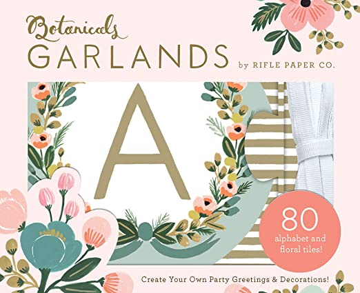 Garland names paper coated cotton 9 letters Angel crowns 3 elements